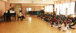 2015年3月3日ミカエル幼稚園演奏